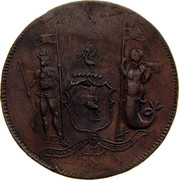 Australia 1 Penny ND KM# Tn183 Private Token issues - coin reverse