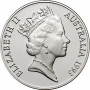 Australia 10 Dollars (Australian Capital Territory) KM# 210 ELIZABETH II AUSTRALIA 1993 RDM coin obverse