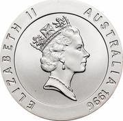 Australia 10 Dollars Betty Cuthbert 1996 KM# 315 ELIZABETH II AUSTRALIA 1996 RDM coin obverse
