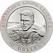 Australia 10 Dollars Murray Rose 1995 KM# 302 AUSTRALIA'S LIVING LEGENDS 10 DOLLARS MURRAY ROSE HH coin reverse