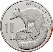 Australia 10 Dollars Numbat 1995 KM# 296 NUMBAT 10 DOLLARS coin reverse