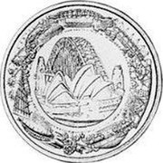 Australia 10 Dollars Paralympics 2000 KM# 518 - coin reverse