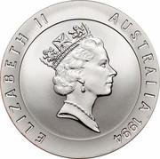 Australia 10 Dollars Sarah Durack 1994 KM# 226 ELIZABETH II AUSTRALIA 1994 RDM coin obverse
