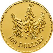 Australia 100 Dollars Common Heath Flower 1999 KM# 487 100 DOLLARS HH coin reverse