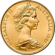 Australia 200 Dollars Wedding of Prince Charles and Lady Diana 1981 KM# 73 ELIZABETH II AUSTRALIA 1981 RDM coin obverse