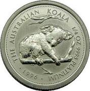 Australia 25 Dollars (Koala) KM# 285 coin obverse