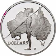 Australia 5 Dollars Australian Explorers - Aboriginal Exploration 1993 KM# 213 5 DOLLARS coin reverse
