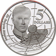 Australia 5 Dollars Australian Explorers - Sir Douglas Mawson 1994 KM# 268 SIR DOUGLAS MAWSON ANTARCTICA 5 DOLLARS G coin reverse