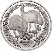 Australia 5 Dollars Emus 2000 KM# 438 SYDNEY 2000 ™© C coin reverse