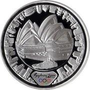 Australia 5 Dollars Harbor of Life (Land) 2000 KM# 815 SYDNEY 2000 ™© P coin reverse