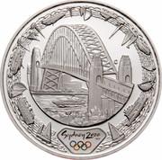 Australia 5 Dollars Harbour Bridge 2000 KM# 515 SYDNEY 2000 ™© C coin reverse