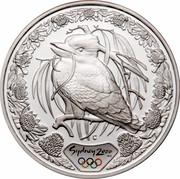 Australia 5 Dollars Kookaburra 2000 KM# 516 SYDNEY 2000 ™© C coin reverse