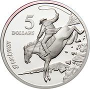 Australia 5 Dollars National Identity - Stockman 1996 KM# 328 STOCKMAN 5 DOLLARS G coin reverse