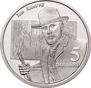 Australia 5 Dollars National Identity - Tom Roberts 1996 KM# 331 5 DOLLARS TOM ROBERTS WP coin reverse