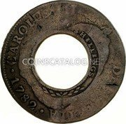 Australia 5 Shillings (1 Crown) Holey Dollar 1813 KM# 2.11 HISPAN ET IND REX 8R P R NEW SOUTH WALES 1813 coin obverse