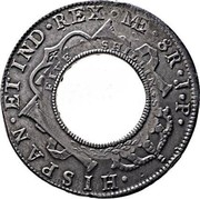 Australia 5 Shillings (1 Crown) Holey Dollar 1813 KM# 2.1 HISPAN ET IND REX 8R P R NEW SOUTH WALES coin reverse