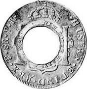 Australia 5 Shillings (1 Crown) Holey Dollar 1813 KM# 2.3 HISPAN ET IND REX 8R P R NEW SOUTH WALES coin reverse