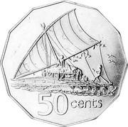Australia 50 Cents Fiji Reverse Mule 1978 KM# A72 50 CENTS coin reverse