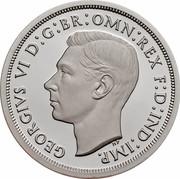 Australia Fifty Cents Masterpieces in Silver - Twentieth Century Monarchs 2000 KM# 499 GEORGIVS VI D:G:BR:OMN:REX F:D:IND:IMP. HP coin reverse