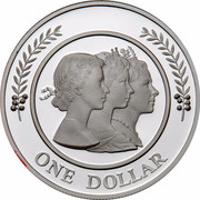 Australia One Dollar Majestic Images 1999 KM# 476 ONE DOLLAR coin reverse