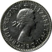 Australia Three Pence Wheat Fields of Gold 1954 KM# 51 +ELIZABETH∙II∙DEI∙GRATIA∙REGINA coin obverse