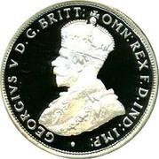 Australia Twenty Cents Masterpieces in Silver - Twentieth Century Monarchs 2000 KM# 497 GEORGIVS V D.G.BRITT:OMN:REX F.D.IND:IMP: coin reverse