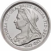 Australia Two Dollars Masterpieces in Silver - Twentieth Century Monarchs 2000 KM# 500 VICTORIA∙DEI∙GRA∙BRITT∙REGINA∙FID∙DEF ∙ IND∙IMP∙ T.B. coin reverse