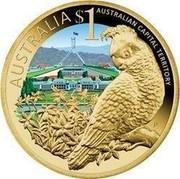 Australia $1 Australian Capital Territory 2009 KM# 1099 AUSTRALIA $1 AUSTRALIAN CAPITAL TERRITORY P EM coin reverse