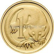 Australia 1 C Feather Tailed Glider - 50th Anniversary 2006 KM# 767b 1 C coin reverse