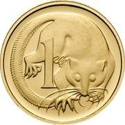 Australia 1 C Feather Tailed Glider - 50th Anniversary 2006 KM# 767b 1 C coin reverse