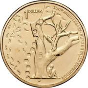 Australia 1 Dollar 150th Anniversary of the Burke & Wills Expedition 2010 KM# 1431 150TH ANNIVERSARY BURKE & WILLS EXPEDITION 1 DOLLAR coin reverse