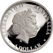 Australia 1 Dollar Australian Koala 2013 KM# 2050 ELIZABETH II AUSTRALIA 1 DOLLAR IRB coin obverse