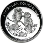 Australia 1 Dollar Australian Kookaburra 2013 KM# 1988 AUSTRALIAN KOOKABURRA 2013 1 OZ 999 SILVER P NM coin reverse