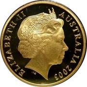 Australia 1 Dollar Australian Volunteers (Colorized) 2003 KM# 690.1 ELIZABETH II AUSTRALIA 2003 IRB coin obverse