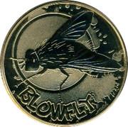 Australia 1 Dollar Blowfly 2010 KM# 1440 BLOWFLY P EM coin reverse