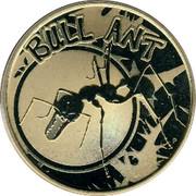 Australia 1 Dollar Bull Ant 2010 KM# 1441 BULL ANT P EM coin reverse