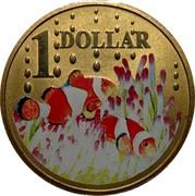 Australia 1 Dollar Clown Fish 2006 KM# 807 1 DOLLAR coin reverse