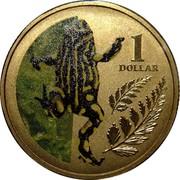 Australia 1 Dollar Corroboree Frog 2012 KM# 1858 1 DOLLAR coin reverse