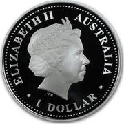 Australia 1 Dollar Discover Australia - Great Barrier Reef 2006 KM# 944 ELIZABETH II AUSTRALIA 1 DOLLAR IRB coin obverse