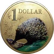Australia 1 Dollar Echidna 2008 KM# 1068 1 DOLLAR coin reverse