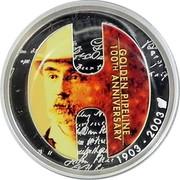 Australia 1 Dollar Golden Pipeline 2003 KM# 824 GOLDEN PIPELINE 100TH ANNIVERSARY 1903-2003 P coin reverse