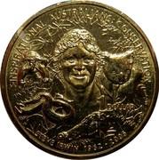 Australia 1 Dollar Inspirational Australians-Steve Irwin 2009 KM# 1429 INSPIRATIONAL AUSTRALIANS: CONSERVATION 1 DOLLAR STEVE IRWIN 1962-2006 coin reverse