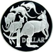 Australia 1 Dollar Kangaroos 2006 KM# 77a 1 DOLLAR coin reverse