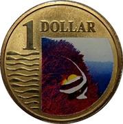 Australia 1 Dollar Longfin Bannerfish 2007 KM# 1025 1 DOLLAR coin reverse