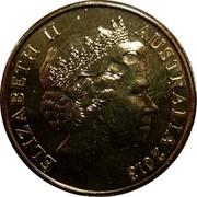 Australia 1 Dollar Mining Australia 2013 KM# 2016 ELIZABETH II AUSTRALIA 2013 IRB coin obverse