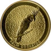 Australia 1 Dollar Palm Cockatoo 2008 KM# 1173 PALM COCKATOO P GM coin reverse