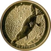 Australia 1 Dollar Platypus 2008 KM# 1177 PLATYPUS P RV coin reverse