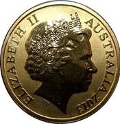 Australia 1 Dollar Polar Series - Atlantic Puffin 2013 KM# 1950 ELIZABETH II AUSTRALIA 2013 IRB coin obverse