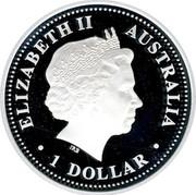 Australia 1 Dollar Port Arthur 2007 KM# 947 ELIZABETH II AUSTRALIA 1 DOLLAR IRB coin obverse