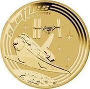 Australia 1 Dollar Space Shuttles 2009 KM# 1262 SHUTTLES DISCOVERY P EM coin reverse